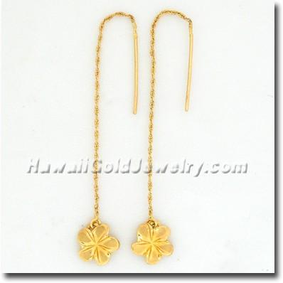 Hawaiian Plumeria Strand - Hawaii Gold Jewelry