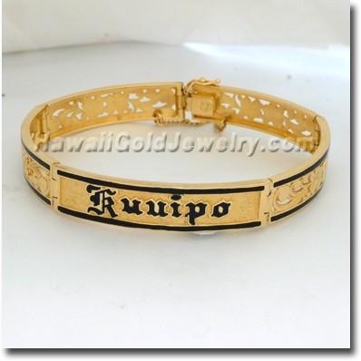 Hawaiian Sweetheart ID Bracelets - Hawaii Gold Jewelry