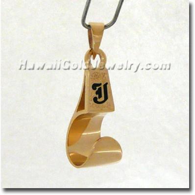 Hawaiian Palaoa Pendant - Hawaii Gold Jewelry
