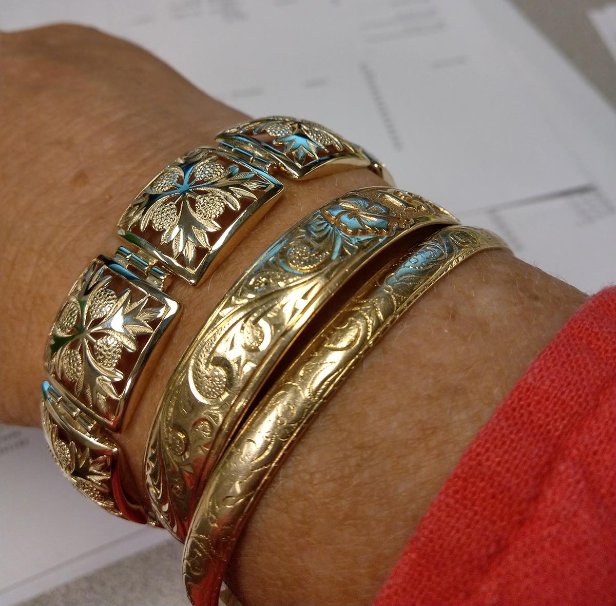 Hawaiian Gold Jewelry Pendants Earrings Bracelets Rings