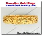 Hawaiian Gold Rings - Hawaii Gold Jewelry
